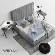 メリディアニトゥヨベッド 3d model