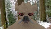potwór 3d model