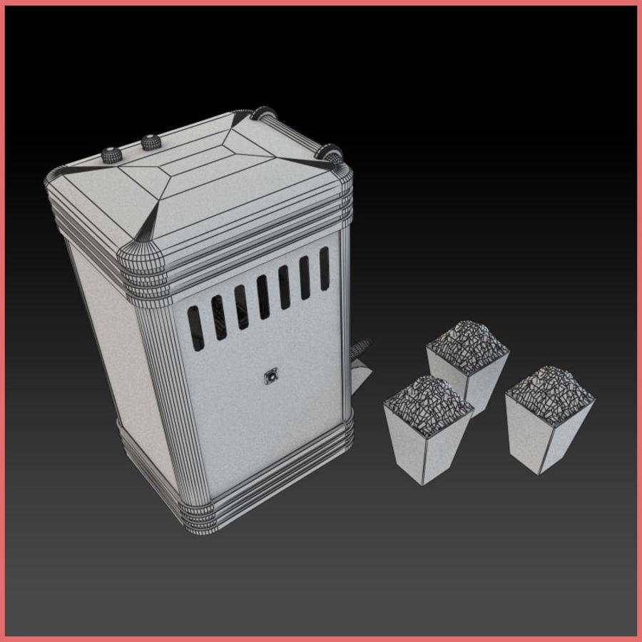 Maszyna do popcornu royalty-free 3d model - Preview no. 5
