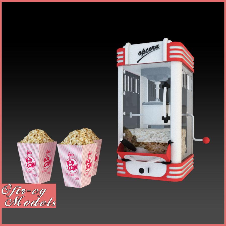 Maszyna do popcornu royalty-free 3d model - Preview no. 1