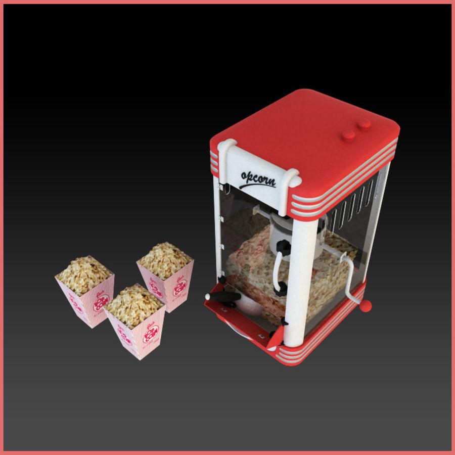 Maszyna do popcornu royalty-free 3d model - Preview no. 3