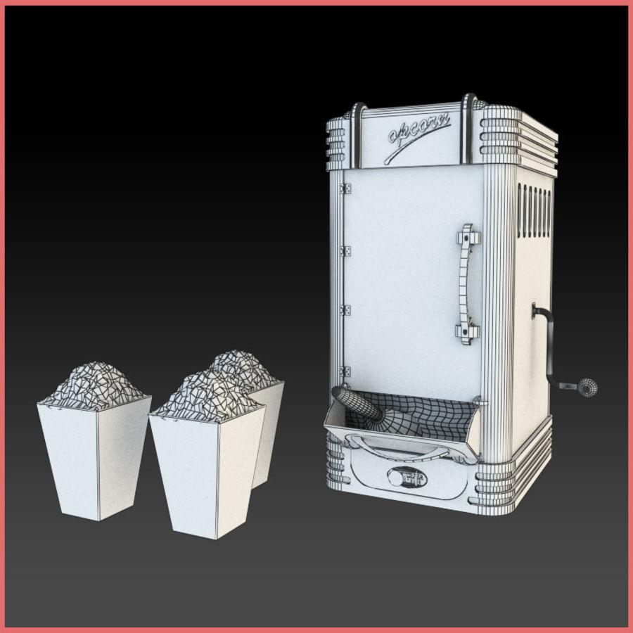 Maszyna do popcornu royalty-free 3d model - Preview no. 4