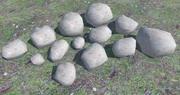 13 Ultra Low Poly Rocks 3d model
