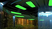 UFO 3d model