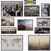 IKEA-bilder - Bjorksta 3d model