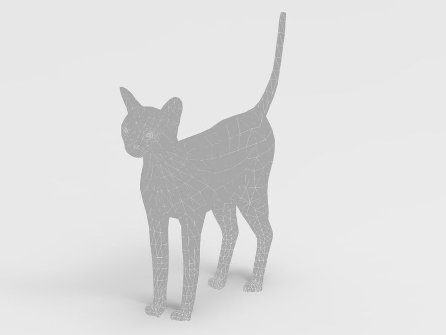 kot takielunek royalty-free 3d model - Preview no. 48