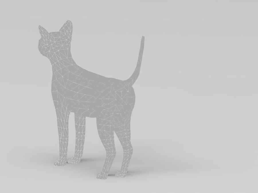 kot takielunek royalty-free 3d model - Preview no. 44