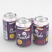 Beverage Can Chaikola 330ml 3d model