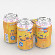 Beverage Can Chaimate 330ml 3d model