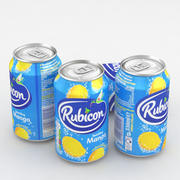 Beverage Can Rubicon Mango 330ml 3d model