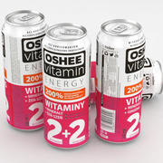 Beverage Can Oshee Vitamin Energy 500ml 3d model