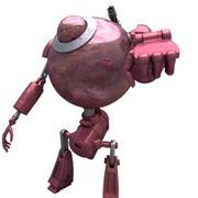 Robô SciFi 07 - Robô Especialista Militar 3d model