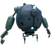 Robô SciFi 08 - Robô Portador de Líquidos 3d model