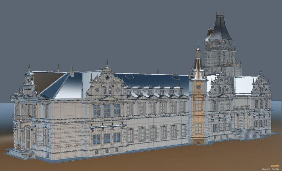 Castle royalty-free 3d model - Preview no. 1
