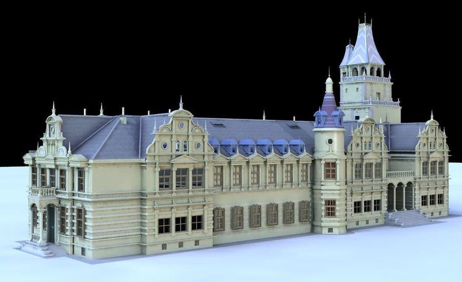 Castle royalty-free 3d model - Preview no. 2