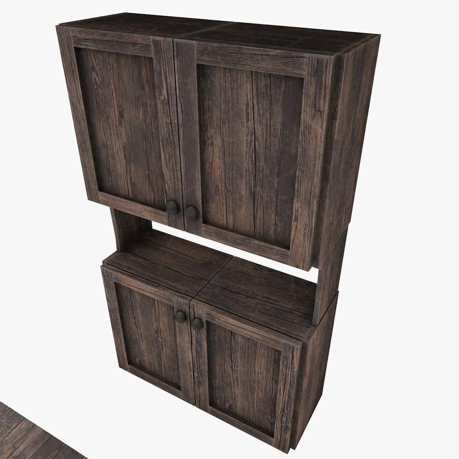 Juego de muebles royalty-free modelo 3d - Preview no. 4