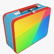 Metal Lunch Box 04 3d model