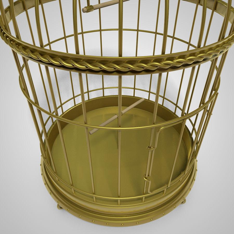 клетка для птиц royalty-free 3d model - Preview no. 4