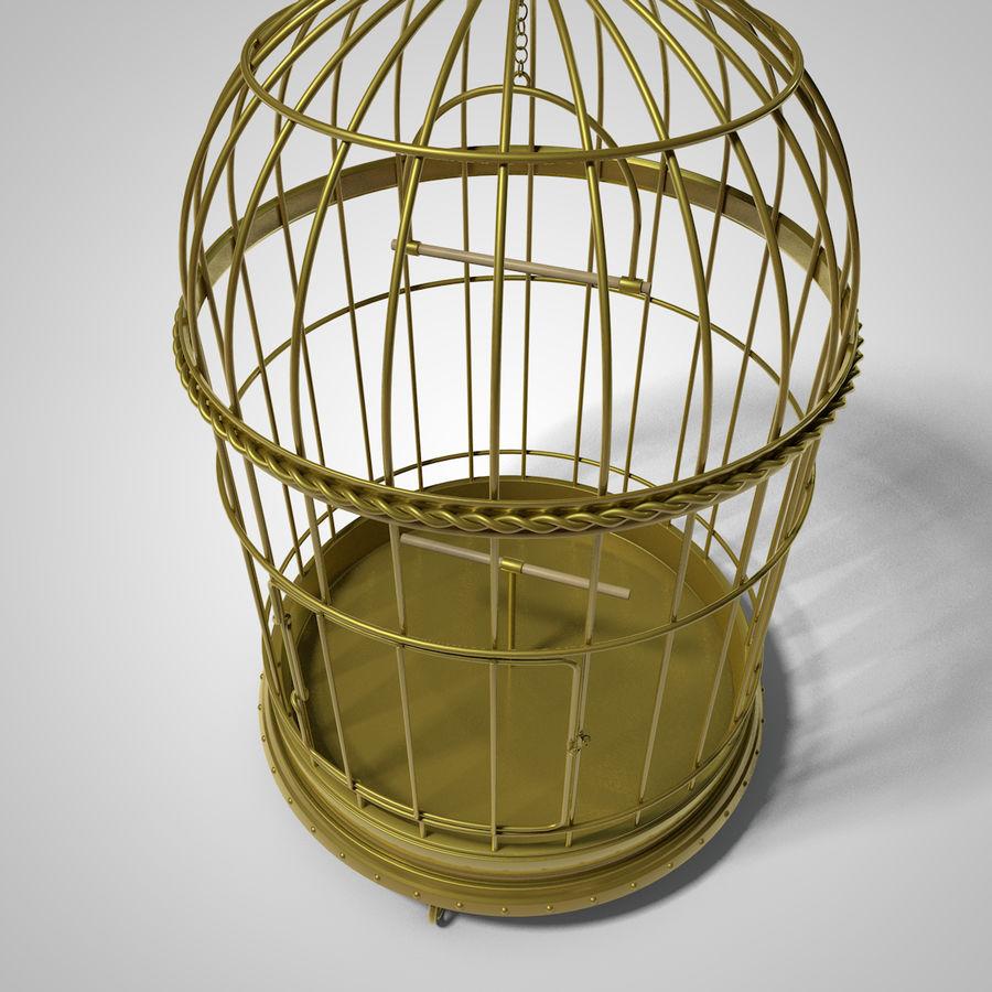 клетка для птиц royalty-free 3d model - Preview no. 6