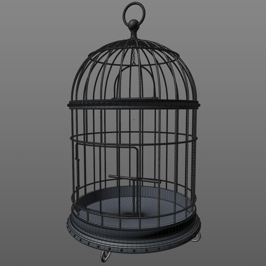 клетка для птиц royalty-free 3d model - Preview no. 11