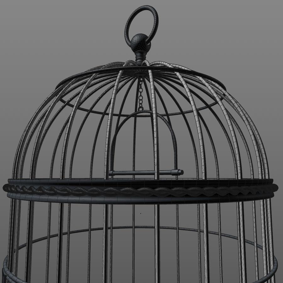 клетка для птиц royalty-free 3d model - Preview no. 19