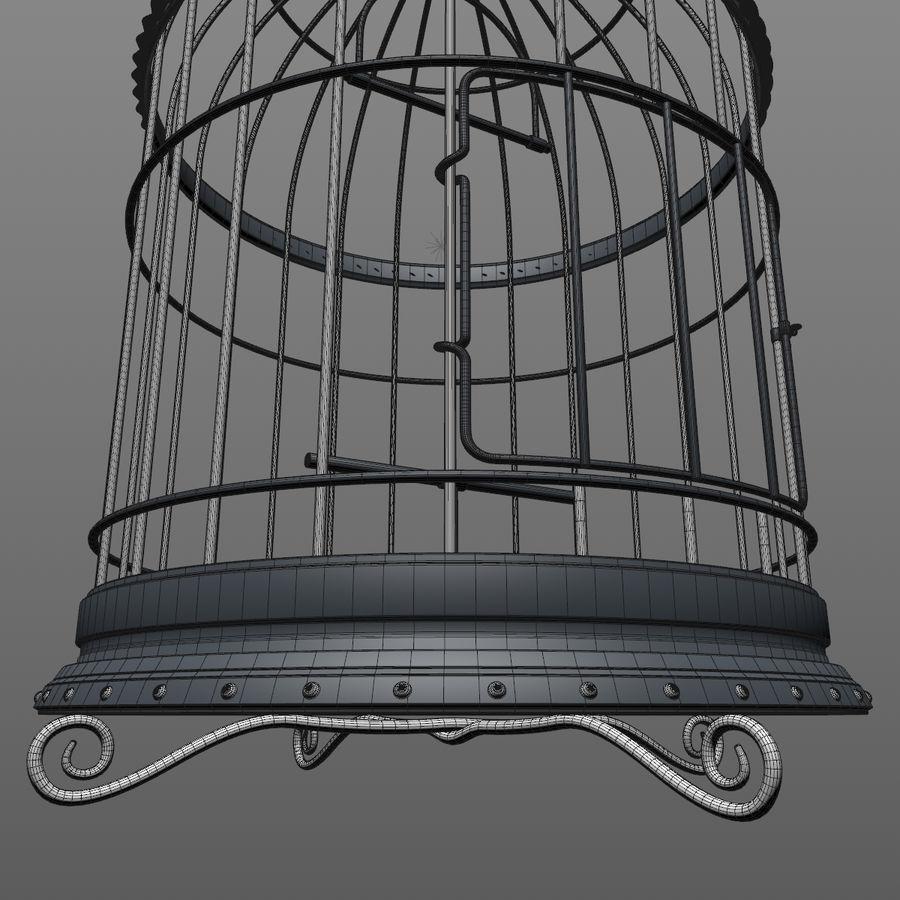 клетка для птиц royalty-free 3d model - Preview no. 18