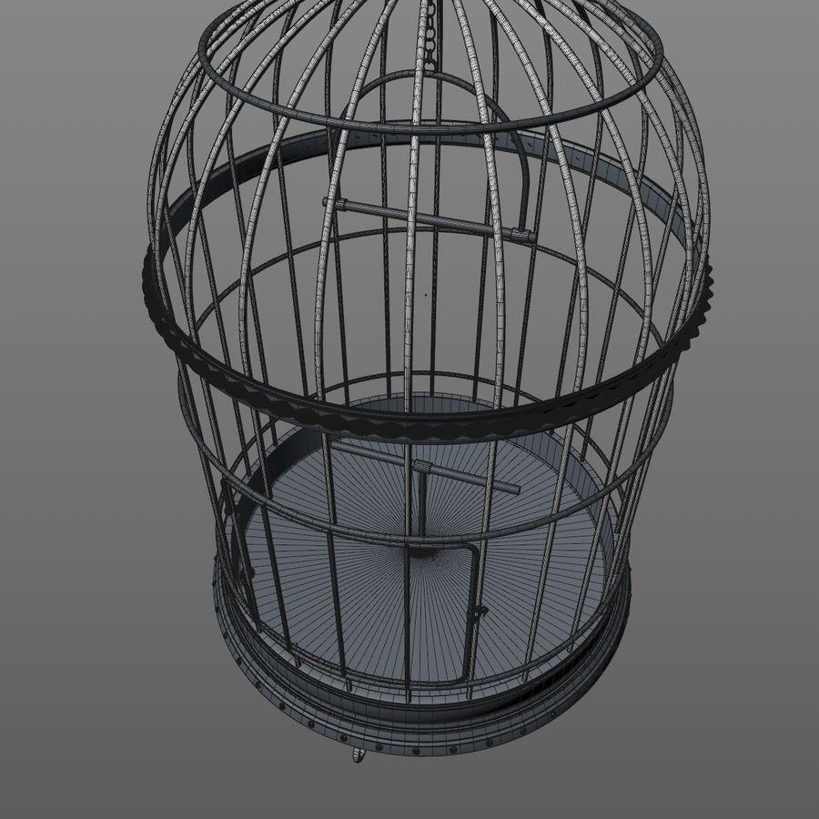 клетка для птиц royalty-free 3d model - Preview no. 16
