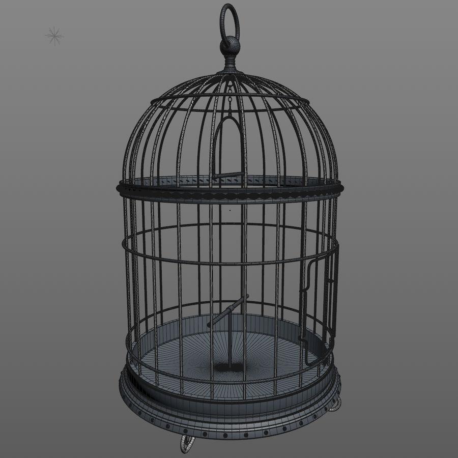 клетка для птиц royalty-free 3d model - Preview no. 12
