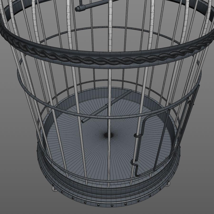 клетка для птиц royalty-free 3d model - Preview no. 14