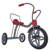 三轮车 3d model