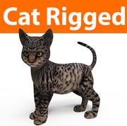 süße Katze manipuliert 3d model