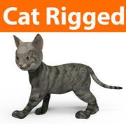귀여운 고양이 조작 3d model