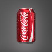 코카콜라 캔 0,33L 3d model