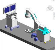 Imaging, C-Arm (контроль и датчик) 3d model