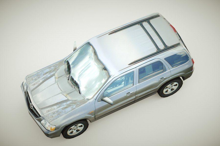 2004年马自达致敬超低价 royalty-free 3d model - Preview no. 3