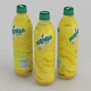 Beverage Bottle Mirinda Lemon 500ml 3d model