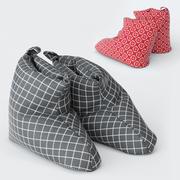 LIAMARIA拖鞋宜家 3d model