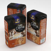 Coffe package Tchibo Caffe Crema 500g 3d model