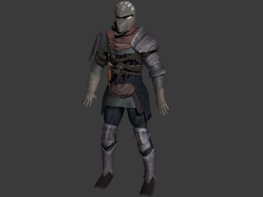 knight royalty-free 3d model - Preview no. 12