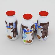 Butelka Zott Monte Drink 200 ml 3d model