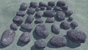 32低聚岩石 3d model