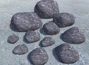 Pakiet Low Poly Rock 1 3d model