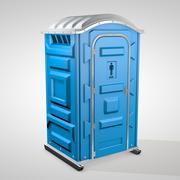 Toaleta chemiczna 3d model