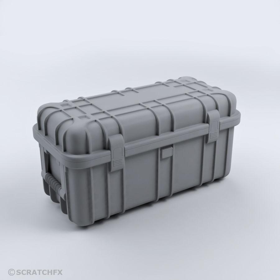 MILITÄRFALL 02 RÜSTUNGSKERN (MITTEL) royalty-free 3d model - Preview no. 1
