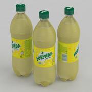 飲料ボトルミリンダレモン1L 3d model
