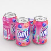 Beverage Can OMJ! Berry Blast 330ml 3d model