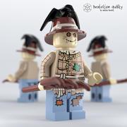 Lego Scarecrow 3d model