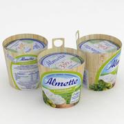 Almette Cucumber and Herbs 150g 3d model