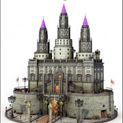 Medieval Fantasy Castle 3d model
