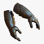 Armor Gloves 3d model